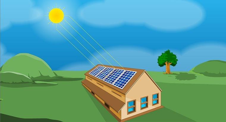 Solar photo-voltaic system - tilt